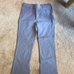 Periwinkle cropped pants. Urban Outfitters.